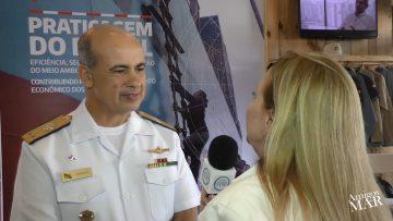 Práticos tem possibilidade de garantir sempre maior segurança nos Portos do Brasil, diz Almirante Viamonte