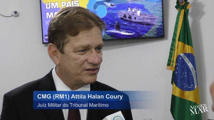 A Posse de juiz militar do Tribunal Marítimo por Attila Halan Coury