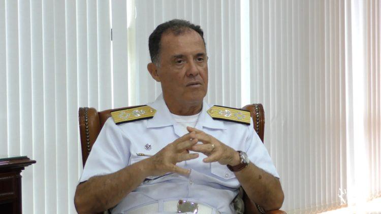 Agressão e Crime Ambiental no mar do Brasil por Almirante Ilques Barbosa Junior, Comandante da Marinha