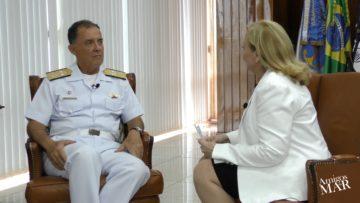Comandante da Marinha recebe o Amigos do Mar