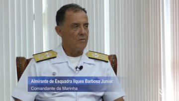 Os desafios e os esforços da Marinha do Brasil por Almirante de Esquadra Ilques Barbosa Junior