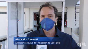 Iniciativa da Praticagem de SP no Combate ao coronavírus por Alexandre Canhetti