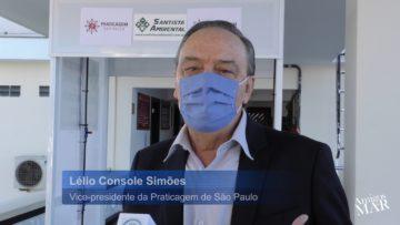 Praticagem de São Paulo tem novas ações contra a Covid-19 por Lélio Console