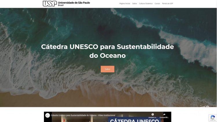 Cátedra UNESCO para sustentabilidade do Oceano por Alexander Turra