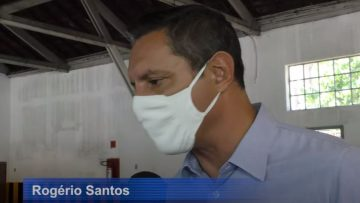 Rogerio Santos prefeito de santos
